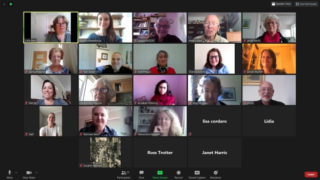 NADP Zoom Meeting