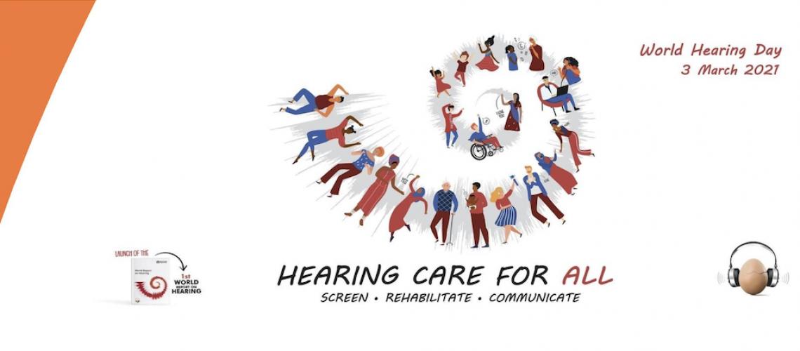 Hearing Care For All webinar banner